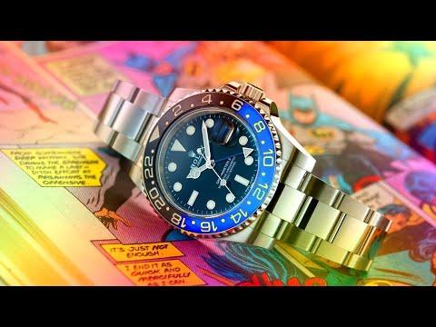 How Rolex Owns The Geek Market: GMT-Master II 'Batman' Watch