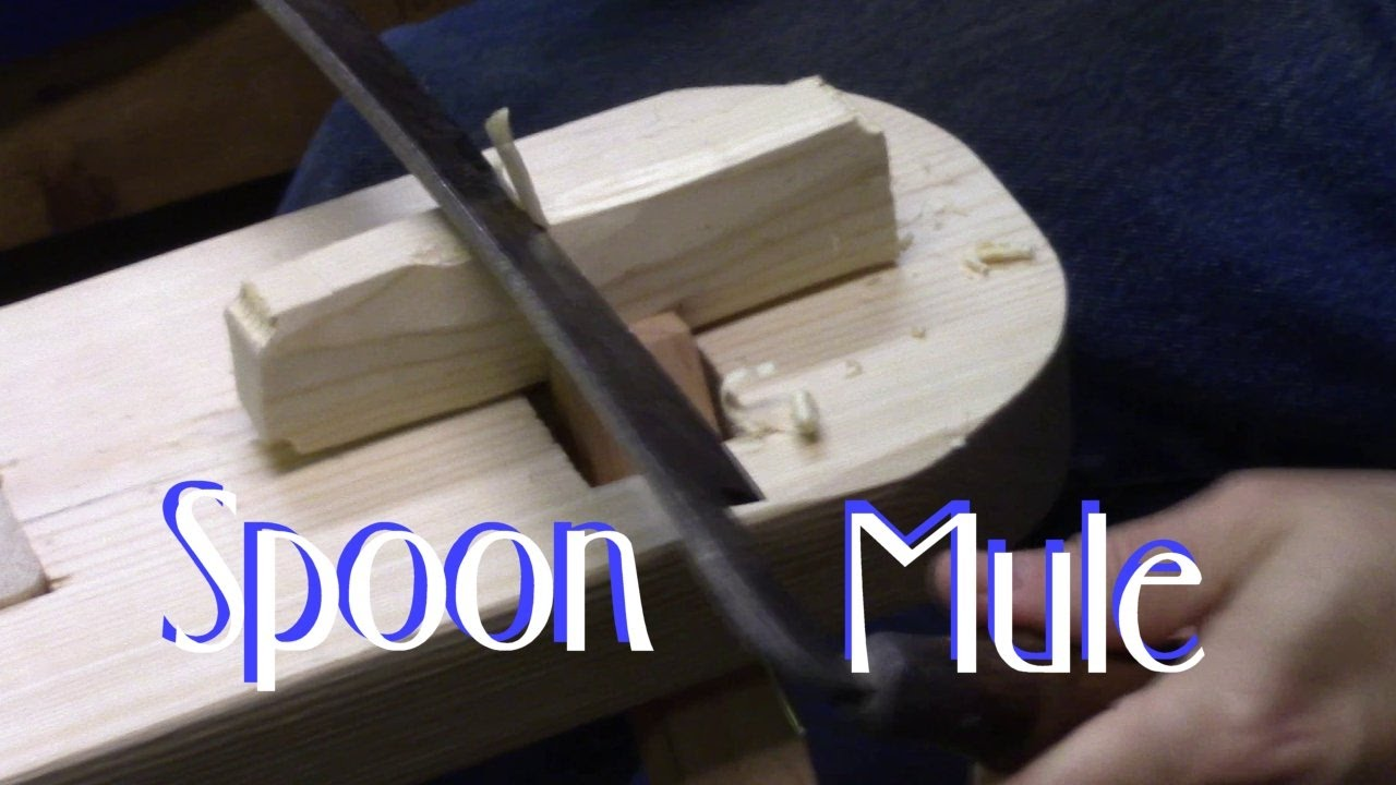 Spoon mule attachment for the shaving horse doovi