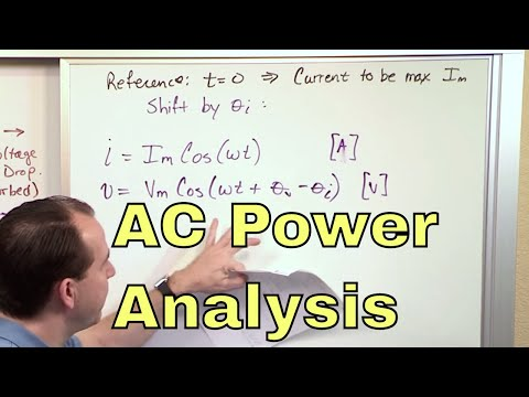 01 - Instantaneous Power In AC Circuit Analysis (Electrical Engineering)