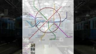 История метро(Делал в прошлом году, поэтому станций
