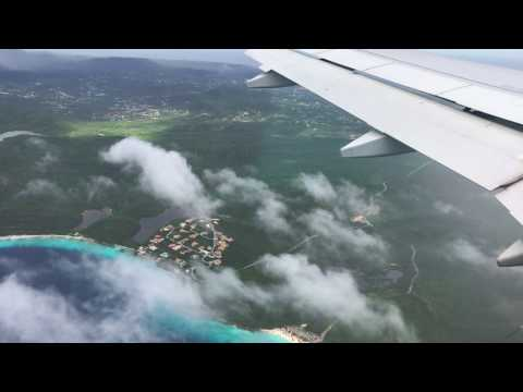 Curaçao - Landing at Hato International Airport HF (2016)