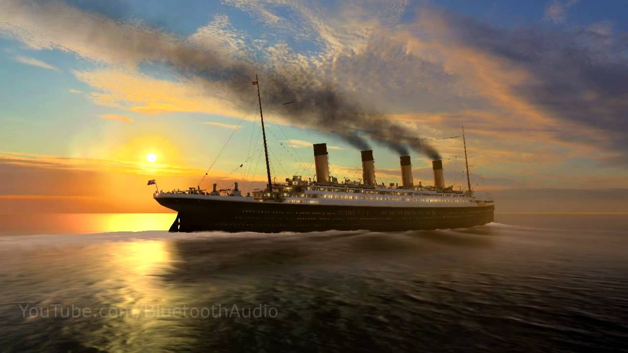 titanic screen saver