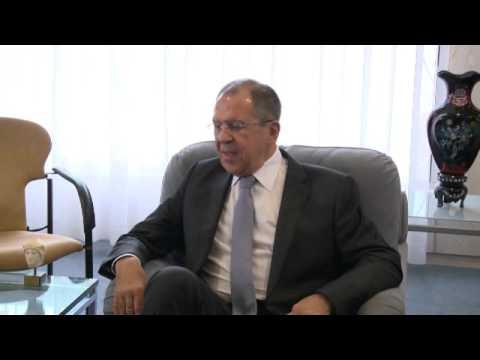 Sergey Lavrov and Irina Bokova│Встреча С.В.Лаврова и И.Боковой