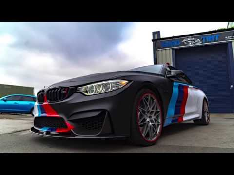 Bmw M4 M Power Design Vinyl Wrap Youtube
