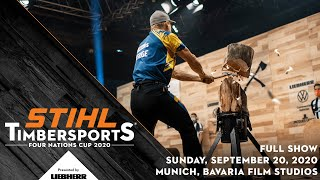 STIHL TIMBERSPORTS®: The Four Nations Cup 2020 in Munich
