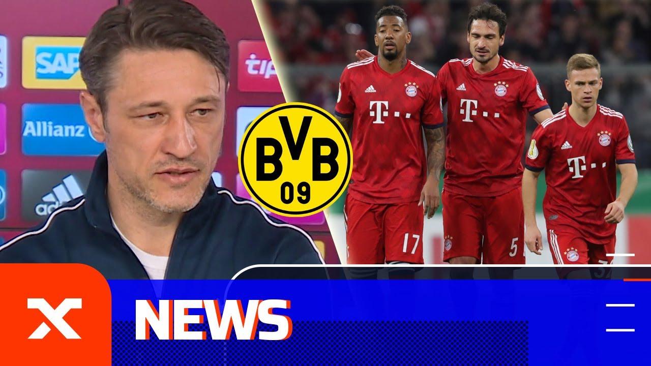 Niko Kovac kritisiert fehlende Typen und das Abwehrverhalten | FC Bayern - Borussia Dortmund | SPOX