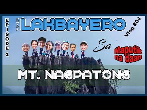 Ep1/3 - Pamilya Lakbayero sa Mt. Nagpatong (Mt. Milagros) (Travel Vlog 04)