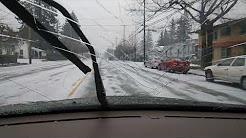 Portland Oregon DEC.2017 SNOW STORM