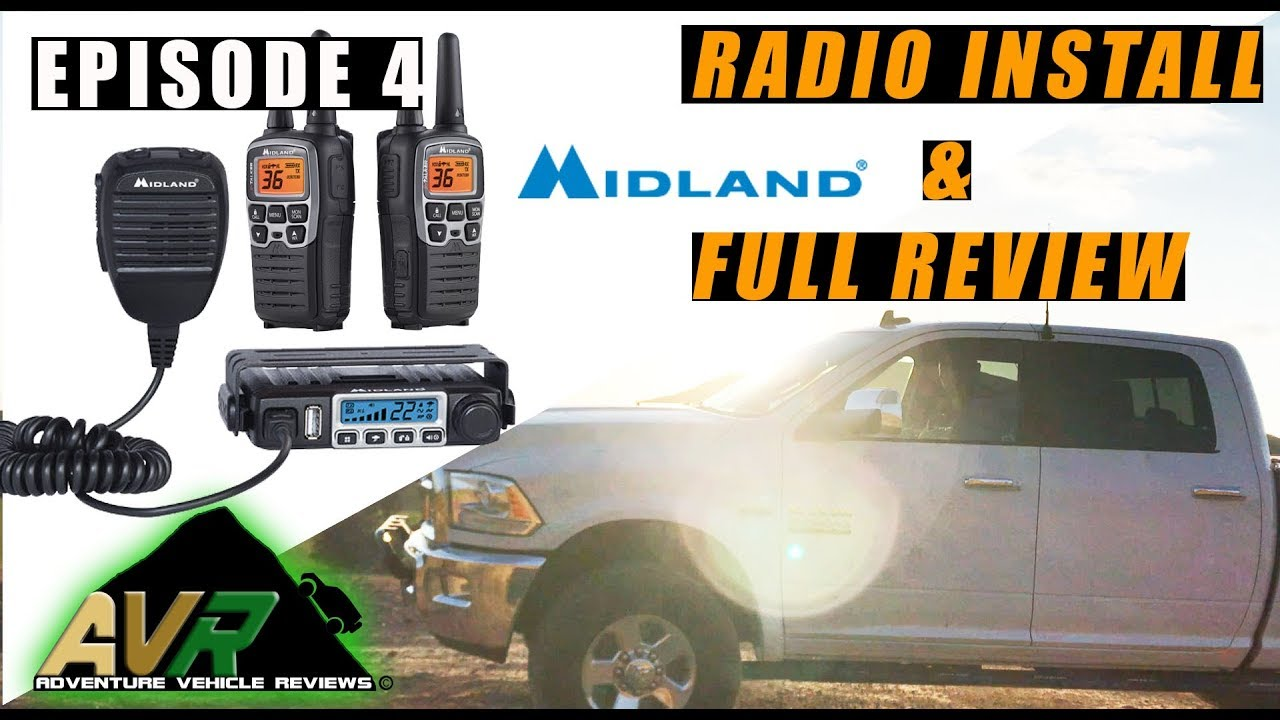 Midland X-Talker T77VP5 & MicroMobile MXT115 Two-Way GMRS Radio Review &  Range Test