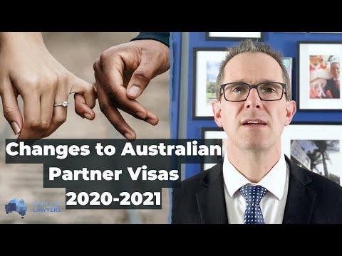 Australian Partner Visa Update For 2020-2021 - English Requirements, Sponsorship Fee & More