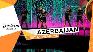 Efendi - Mata Hari - First Rehearsal - Azerbaijan 🇦🇿 - Eurovision 2021