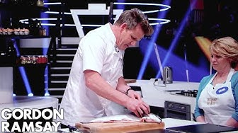 Gordon Ramsay Demonstrates Key Cooking Skills