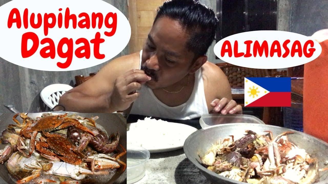 Download ALIMASAG!!! ALUPIHANG DAGAT!!! MUKBANG!!! Filipino Food. Seafood!