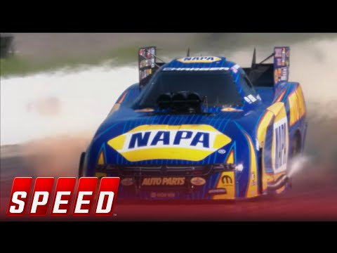 Ron Capps Vs. Robert Hight - Houston Funny Car Final   2017 NHRA DRAG RACING