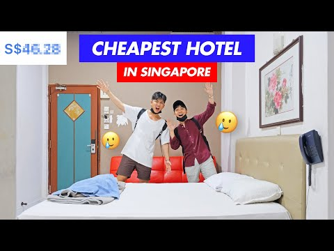 We went to the CHEAPEST HOTEL in Singapore!