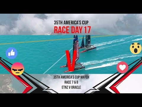 35th America's Cup Match: Races 7 & 8 Favourite moments