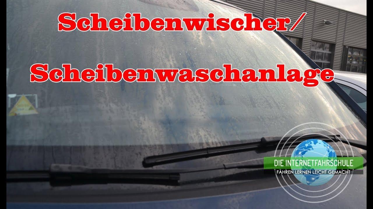 Scheibenwischer / Scheibenwaschanlage Funktion, Bedienung ...
