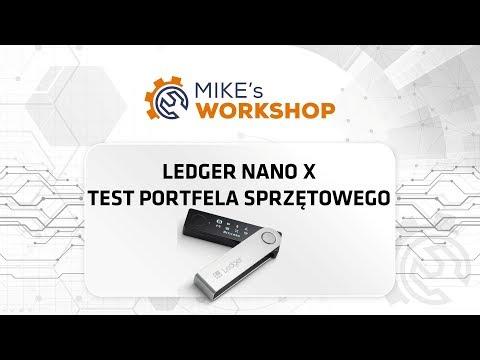 Ledger Nano X - kompleksowy test portfela sprzętowego - Mike's Workshop