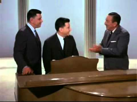 The Sherman Brothers and Walt Disney - World's Fair 1964 Status Report to GE