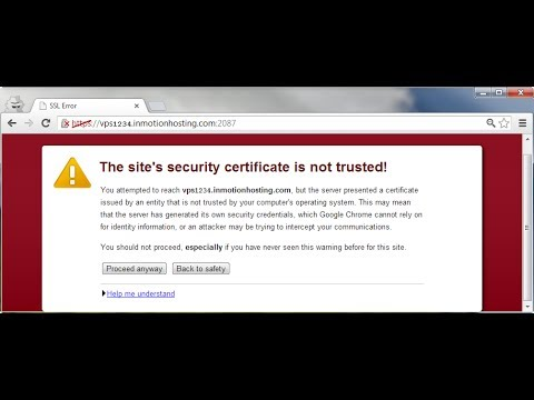 How to Fix SSL  Error in Google Chrome - SSL connection error fix HD