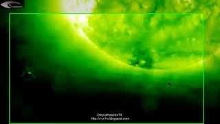 Monitoring of unidentified objects (UFO) near the Sun for May 13, 2012.
