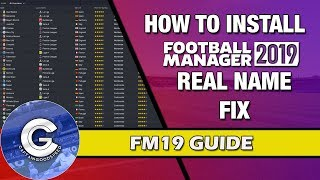 Download Football Manager 2019 Mobile 10 1 0 Apk Mod Real Names Fix