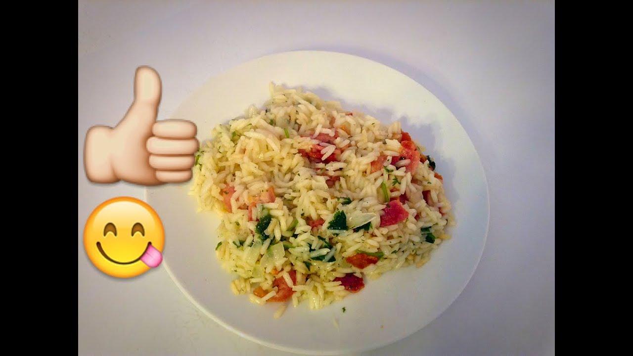 Has arroz blanco con tocino bien rico youtube - Comidas con arroz blanco ...