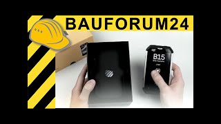 CAT B15 Unboxing - New Android outdoor phone by Caterpillar  Cellphone Review