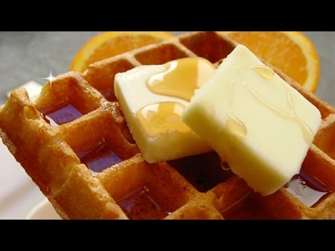 Quick And Easy Homemade Waffles Recipe - How To Make Waffles From Scratch
