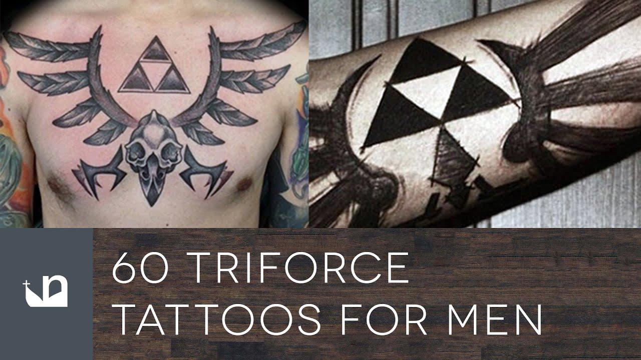 60 Triforce Tattoos For Men Youtube