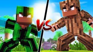 CACTUS Armor vs WOOD Armor!! | Minecraft Modded Mini-Game