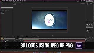 كيفية إنشاء شعار 3D مع العنصر 3D في بعد الآثار