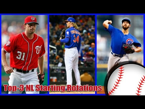 MLB 2017: Top-3 Starting Rotations In The National League