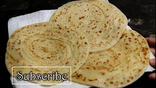 Roghni Paratha - Soft & Layered Paratha - Vegetarian Recipe by (Cook with Madeeha)