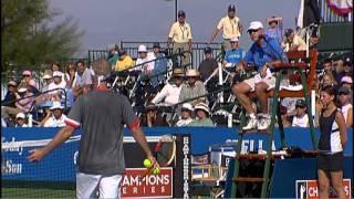 Michael Chang vs John McEnroe - Champions Series Tennis