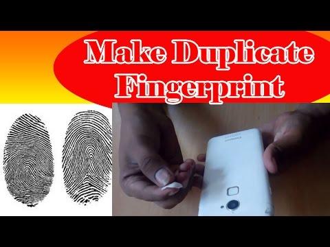 How to make duplicate fingerprint
