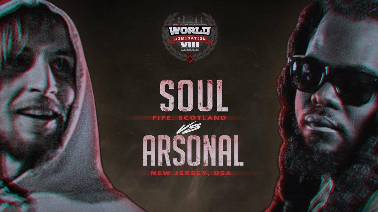 Download KOTD - Arsonal vs Soul   #WD8