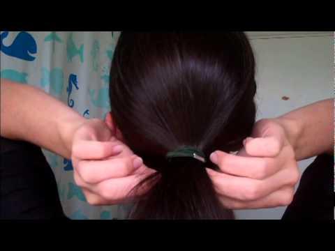 How To Easy Chignon Bun 60s Volume Style Retro Hair 2012 2013