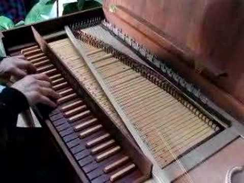Sabathil & Son Clavichord demonstration - Well-Tempered ...