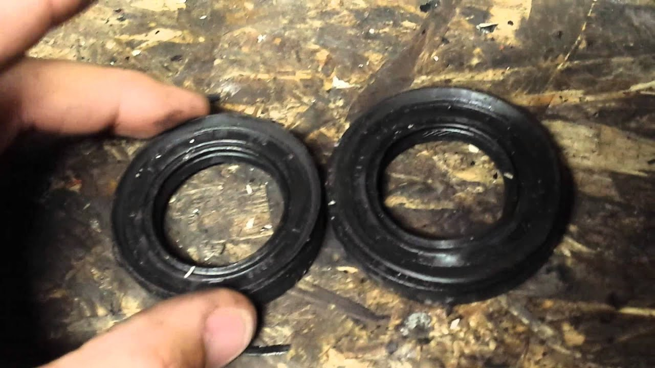 D series manual transmission cv axle seal question - YouTube