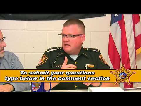 Sheriff Jeff Paden 911 Emergency Levy Q&A 11/02/2017