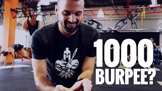 1000 BURPEE KIHÍVÁS