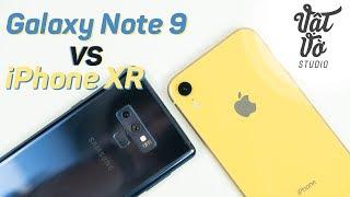 So sánh iPhone XR và Samsung Galaxy Note 9 bạn chọn máy nào?