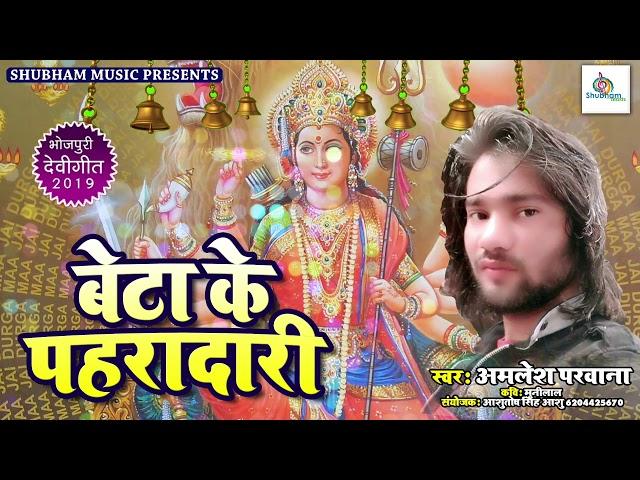 Beta Ke Paharadaari - बेटा के पहरादारी - Devigeet 2019 - Amlesh Parwana