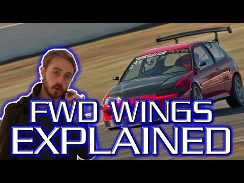 Rear Wings on FWD Cars - Why they may actually be a good idea...