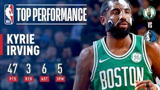 Kyrie Irving Explodes For 47 in Overtime Win vs. Mavs | November 20, 2017