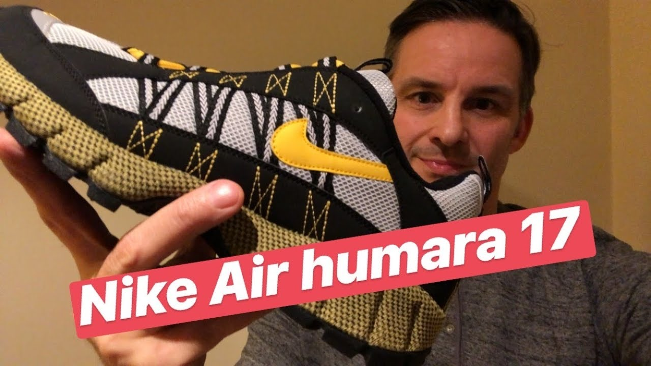 1410c69df9e Nike Air Humara  17 Review   On Foot - YouTube