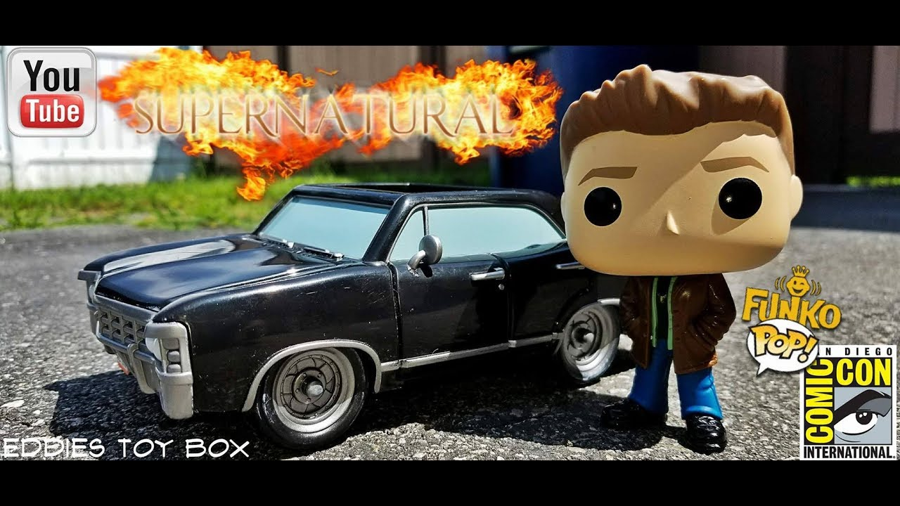 Sdcc 2017 Funko Pop Rides Baby With Dean Winchester