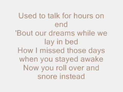 Christina Aguilera - Underappreciated lyrics