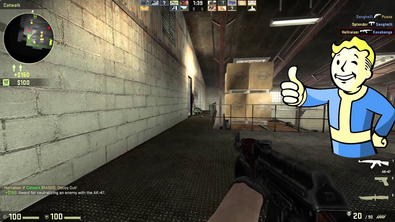 csgo how to use decoy grenade like a pro youtube